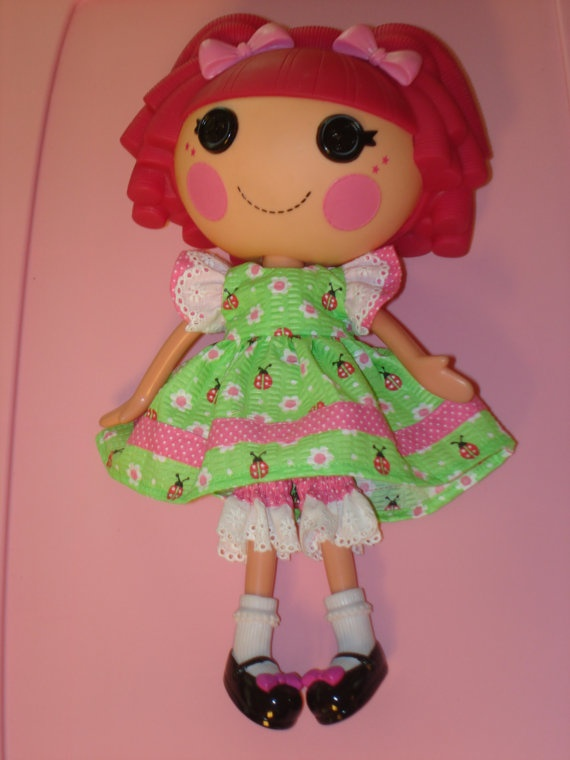 lalaloopsy doll clothes dress for 12 quot doll sweet summer