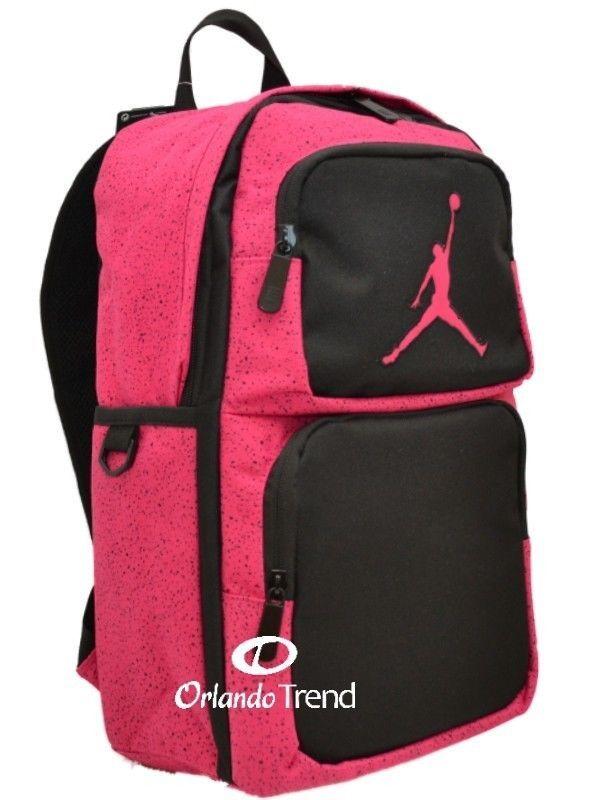... Backpack Purple Black Pink School Book Bag Women Girl #Nike #Backpack