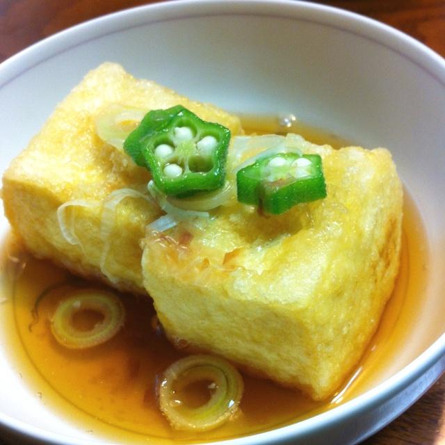 揚げだし豆腐   w...