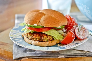 Pinto-and-Rice Burgers - Delicious veggie burgers that are perfect for ...