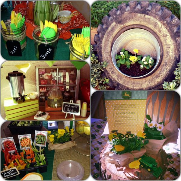 john deere baby shower baby pinterest