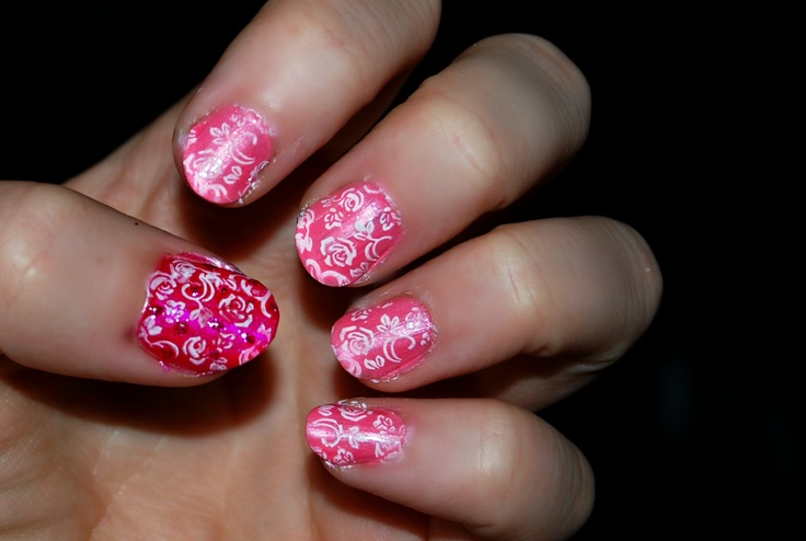 Rose Nail Art Design | Nails | Pinterest