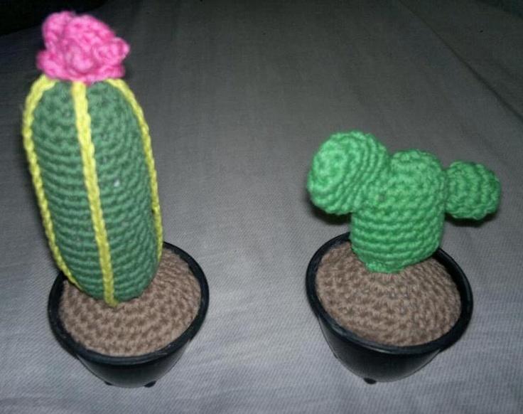 Tecnica Amigurumi Cactus : Cactus amigurumi AMIGURUMIS Cactus Pinterest