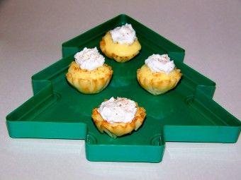 Egg nog pudding phyllo cups | Recipes | Pinterest