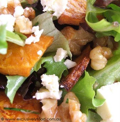 More like this: walnut salad , feta and roasts .