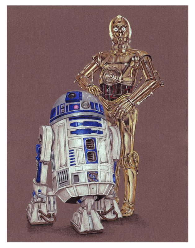 R2d2 And C3po R2D2 and C3PO | A Gala...
