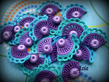 Classical motifs of traditional Irish Crochet and new modern designs
