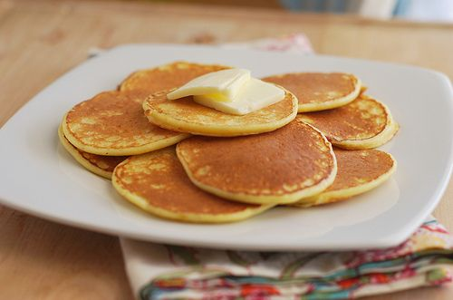 orange ricotta pancakes | Breakfast | Pinterest