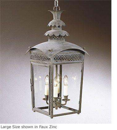 hanging regency pineapple lantern hl 202 charles edwards lighting