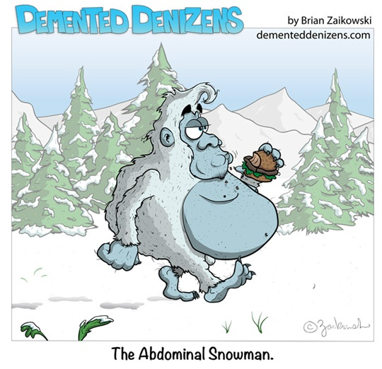 abdominal snowman | Now That's Just Funny | Pinterest