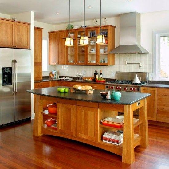 Craftsman kitchen island craftsman style amp flw pinterest