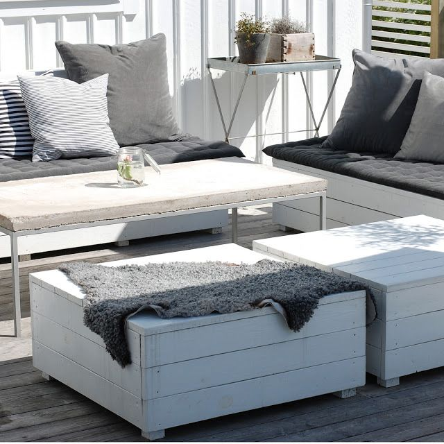 Gardin Till Koksfonster Ikea : Pallar till trodocket  Garden and outdoors  Pinterest
