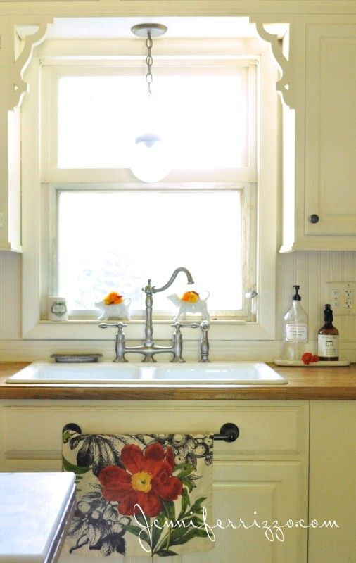 Sink Blank : kitchen sink view towel bar on the blank drawer is a great idea