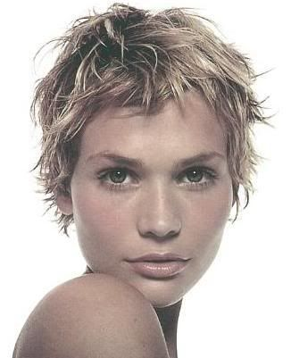 Short hairstyle for after chemo  Breast Cancer  Pinterest