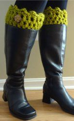 Best Ever Boot Cuffs ~ free pattern