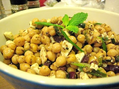 Chickpea salad with cumin vinaigrette | Yummy (Yes, vegans eat) | Pin ...