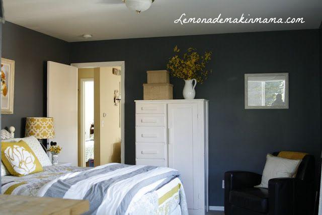 Wall Color Master Bedroom Ideas Pinterest