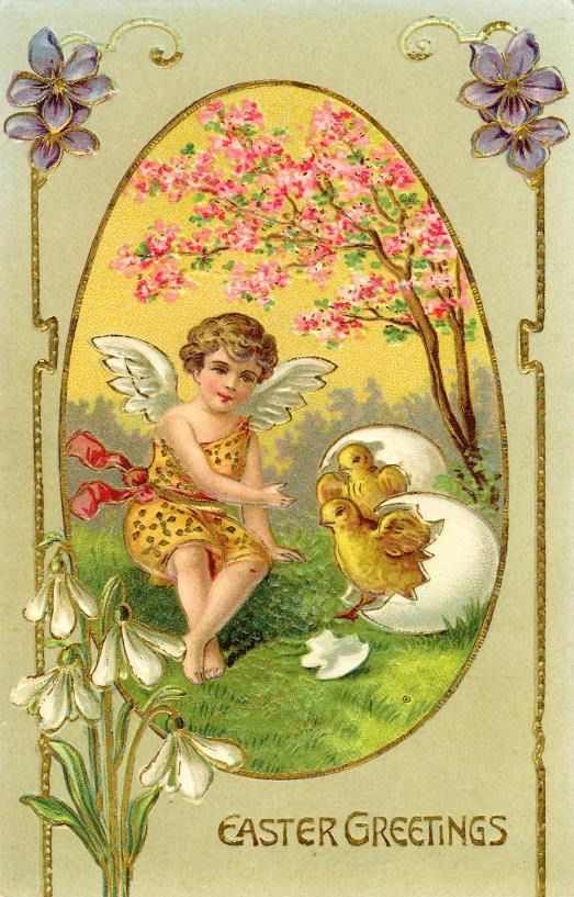 Easter Angel Cards