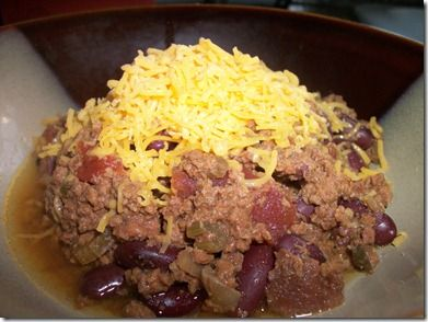 Simple Chili in the Slow Cooker | Slow Cooker Dinners | Pinterest
