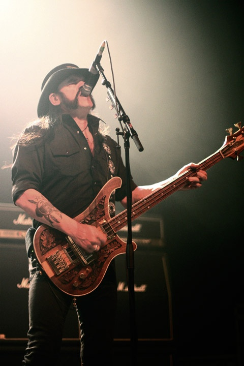 Lemmy at the Warfield.