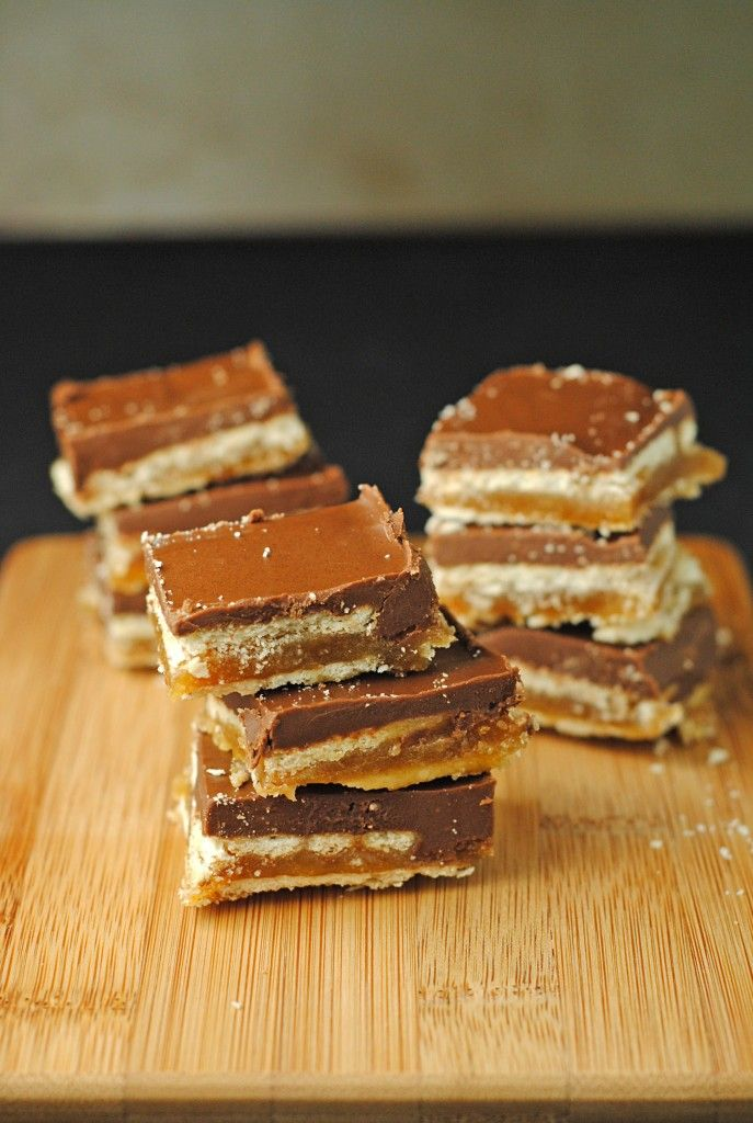 Homemade Crispy Twix Bars Recipe — Dishmaps