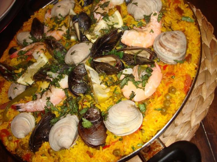 paella valenciana (authentic) | My Moroccan Kitchen | Pinterest
