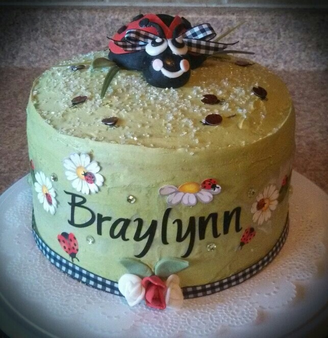 ladybug baby shower cake ladybug shower party pinterest