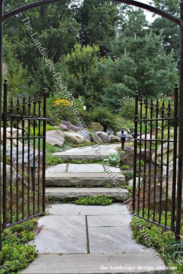 wrought iron garden entry arbor gate for the garden pinterest