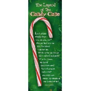 candy cane poem bookmarker | just b.CAUSE