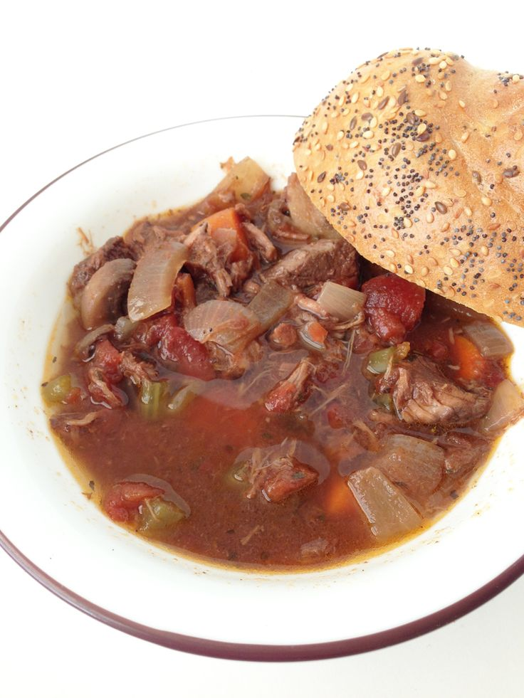 Red Wine Beef Stew | i want to slow cook this | Pinterest