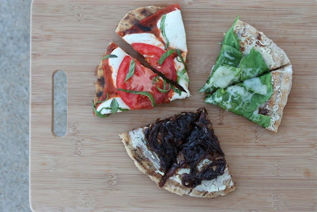 Grilled Pizzas by C. Jane Create