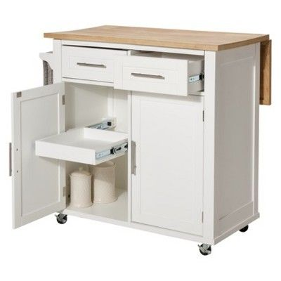 Threshold kitchen island white - Target kitchen cart ...