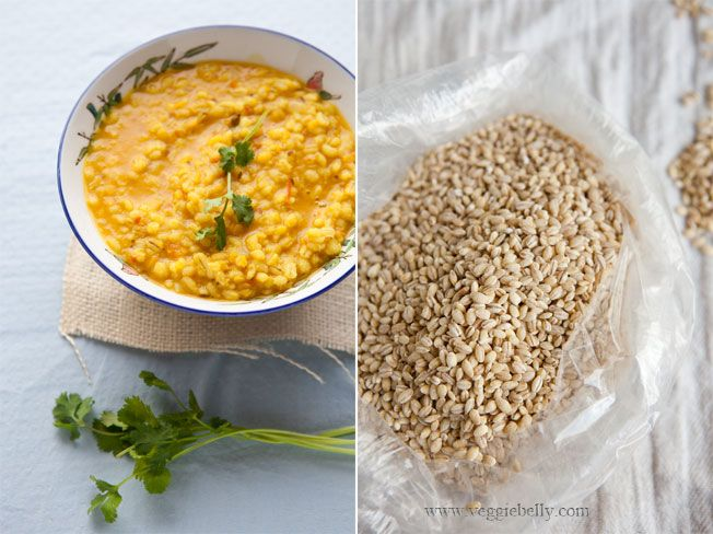 pearled barley and khichdi | Yum | Pinterest