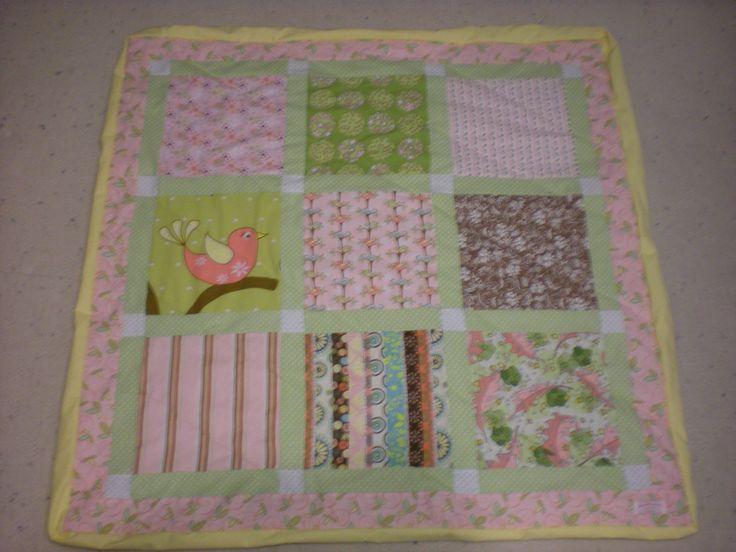 Quilt Ideas For Baby Girl : Baby Girl Bird Quilt! Quilt Ideas Pinterest