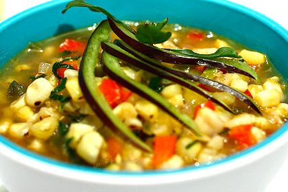 Fresh Vegetable Soup With Lime Recipes — Dishmaps