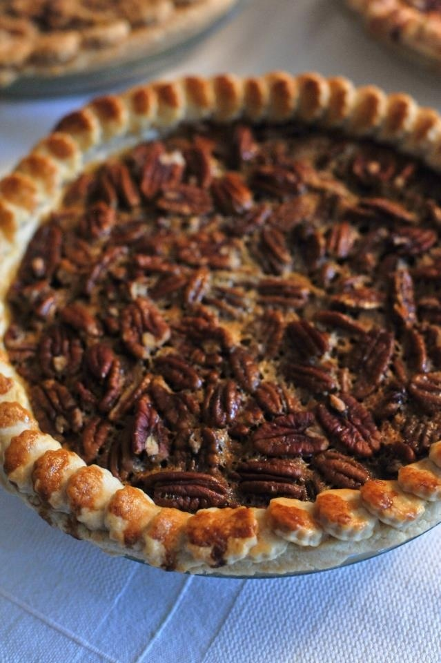 Chocolate bourbon pecan pie by tartlett | Recipes | Pinterest