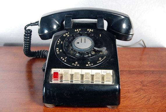 multi line rotary telephone