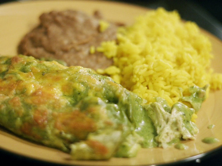 Gojee - Chicken Enchiladas Tacuba Style | food. | Pinterest