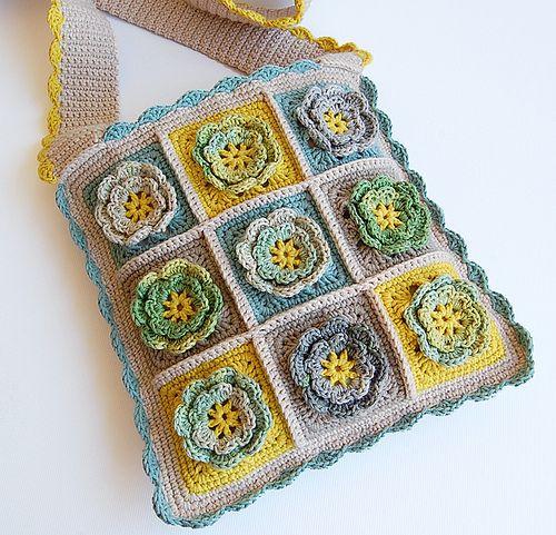 Handmade crochet bag Crochet: Bags & Purses Pinterest