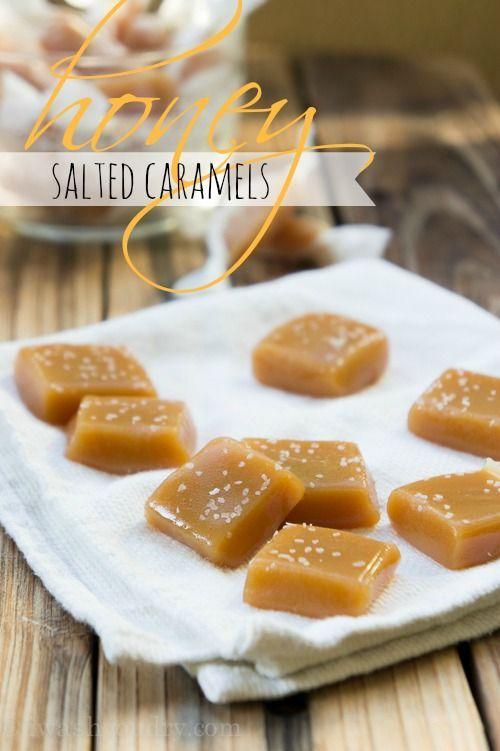 Honey Salted Caramels. | Afters | Pinterest