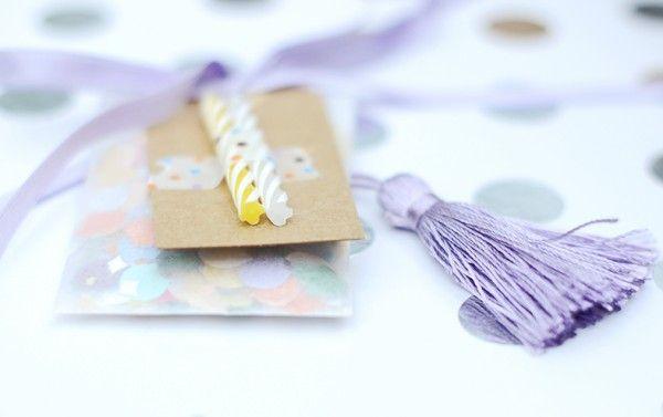 Wrapping. Etiquetas para cumpleaños/ Birthday tags