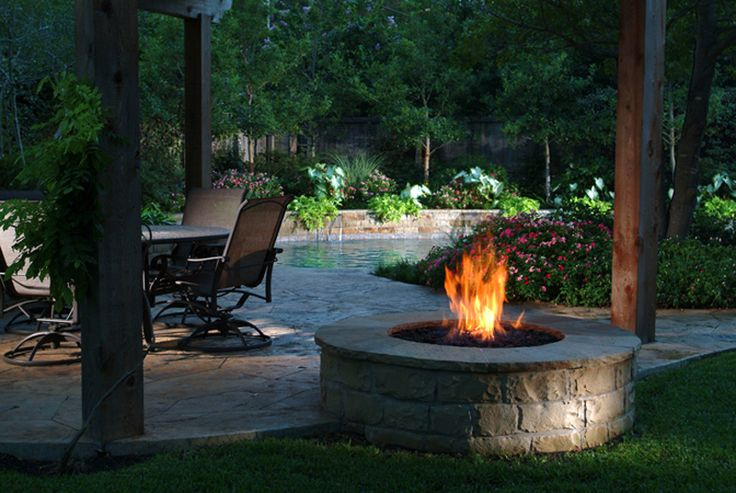 fire pits | Stone fire pit | I want this! | Pinterest