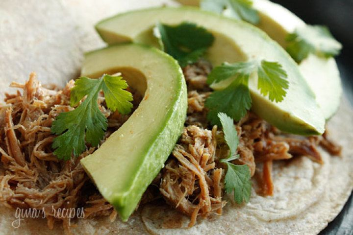 Mexican Slow Cooked Pork Carnitas | food | Pinterest