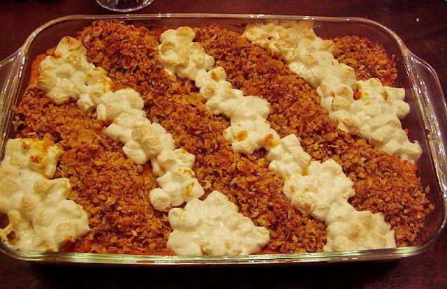 Sweet Potato Souffle that makes everyone happy! It has both a ...