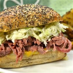 Slow Cooked Corned Beef for Sandwiches | Recipe