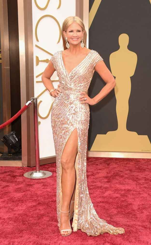 Woman nancy o dell fashion on the 2014 academy awards red carpet