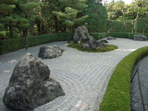 Simple japanese rock garden todd and marcia n pinterest for Easy japanese garden