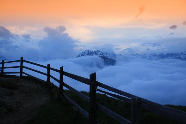 Despues de soñar en la montañas