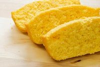 corn bread--buttermilk, soaked cornmeal, uses honey, cooked in cast ...