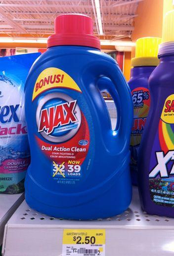 ajax laundry detergent coupon august 2014